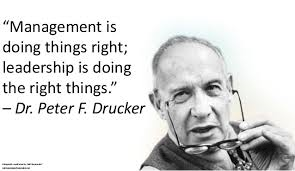 Peter Drucker on Leadership and Management